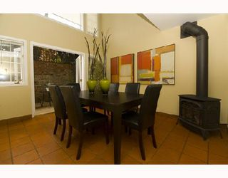 Photo 5: 1593 LARCH Street in Vancouver: Kitsilano Townhouse for sale (Vancouver West)  : MLS®# V701040