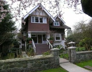 Photo 1: 1930 WEST 16TH AVENUE in Vancouver: Shaughnessy House for sale (Vancouver West)  : MLS®# V673311