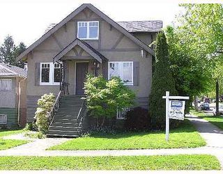Photo 1: 3102 3RD Ave: Renfrew VE Home for sale ()  : MLS®# V646159