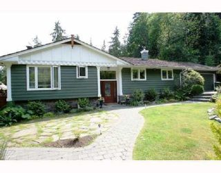 Main Photo: 3640 MATHERS Avenue in West Vancouver: Westmount WV House for sale : MLS®# R2402378