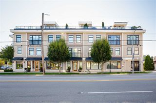 "Photo 1: 8 3993 CHATHAM Street in Richmond: Steveston Village Townhouse for sale in ""STEVESTON VIEWS"" : MLS®# R2441255"