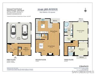 Photo 25: SAN DIEGO Townhome for sale : 3 bedrooms : 2249 3rd Ave
