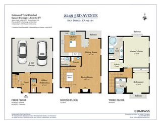 Photo 24: SAN DIEGO Townhome for sale : 3 bedrooms : 2249 3rd Ave