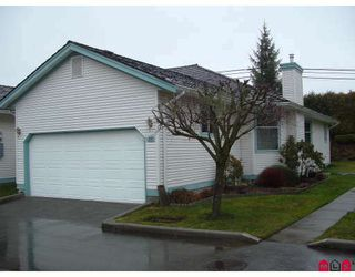 "Photo 1: 38 27435 29A Avenue in Langley: Aldergrove Langley Townhouse for sale in ""Creekside Villa"" : MLS®# F2800458"