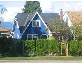 Photo 1: 3059 W KING EDWARD Avenue in Vancouver: Dunbar House for sale (Vancouver West)  : MLS®# V683631
