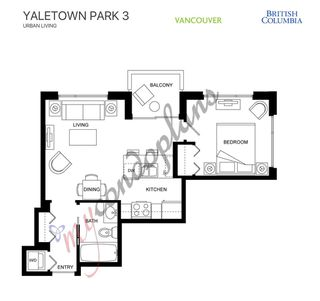 """Photo 2: 1502 977 MAINLAND Street in Vancouver: Yaletown Condo for sale in """"Yaletown Park 3"""" (Vancouver West)  : MLS®# R2396486"""