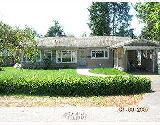 "Photo 1: 1615 MCBRIDE Street in North_Vancouver: Norgate House for sale in ""NORGTE"" (North Vancouver)  : MLS®# V651777"