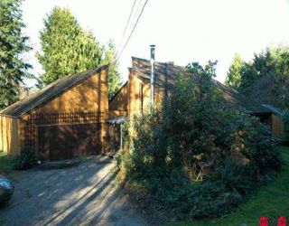 Photo 1: 15715 MOUNTAIN VIEW DR in Surrey: Grandview Surrey House for sale (South Surrey White Rock)  : MLS®# F2602538