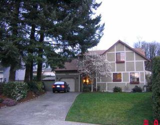 "Photo 1: 3622 BURNSIDE DR in Abbotsford: Abbotsford East House for sale in ""Sandy Hill"" : MLS®# F2606549"