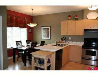 """Photo 3: 52 6050 166TH Street in Surrey: Cloverdale BC Townhouse for sale in """"Westfield"""" (Cloverdale)  : MLS®# F2704212"""