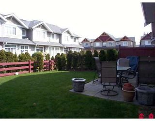 "Photo 8: 16760 61ST Ave in Surrey: Cloverdale BC Townhouse for sale in ""HARVEST LANDING"" (Cloverdale)  : MLS®# F2708269"