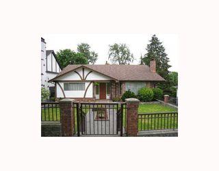 Photo 1: 8096 ELLIOTT Street in Vancouver: Fraserview VE House for sale (Vancouver East)  : MLS®# V713304