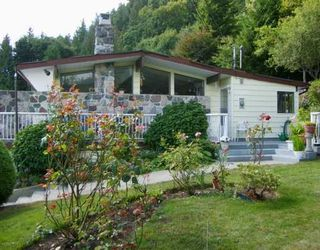 Photo 1: 1107 Marine Drive in SECHELT: House for sale (Sunshine Coast)  : MLS®# V773188