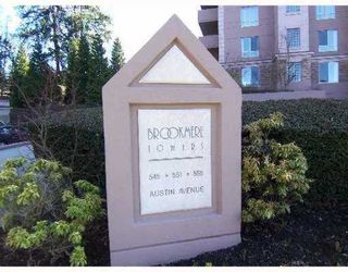 "Photo 2: 201 551 AUSTIN Ave in Coquitlam: Coquitlam West Condo for sale in ""BROOKMERE TOWERS"" : MLS®# V637112"