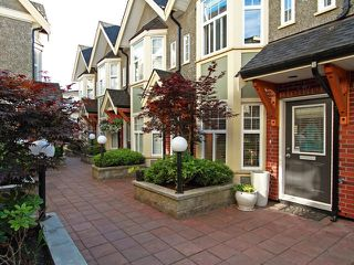 "Photo 1: 2-1638 E. Georgia Street in Vancouver: Hastings Townhouse for sale in ""The Woodshire"" (Vancouver East)  : MLS®# V838102"