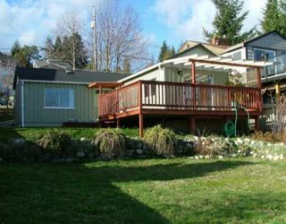 Photo 1: 532 SARGEANT Road in Gibsons: Gibsons & Area House for sale (Sunshine Coast)  : MLS®# V633832