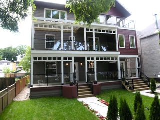 Main Photo: 3 906 Dorchester Crescent in Winnipeg: Crescentwood Townhouse for sale (Central Winnipeg)