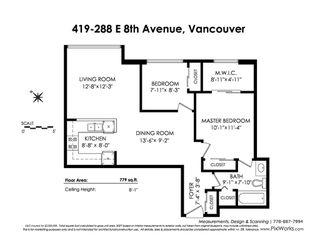 """Photo 20: 419 288 E 8TH Avenue in Vancouver: Mount Pleasant VE Condo for sale in """"Metrovista"""" (Vancouver East)  : MLS®# R2407649"""