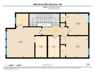 Photo 41: 8524 24 Avenue in Edmonton: Zone 53 House for sale : MLS®# E4198895