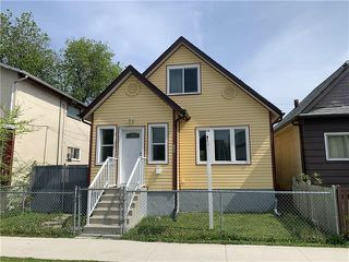 Photo 1: 745 Magnus Avenue in Winnipeg: North End Residential for sale (4A)  : MLS®# 202024133