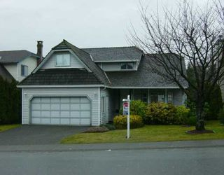 "Photo 1: 2370 COLONIAL Drive in Port Coquitlam: Citadel PQ House for sale in ""CITADEL"" : MLS®# V629659"