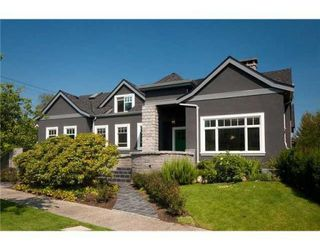 Photo 1: 1109 DEVONSHIRE CR in Vancouver: House for sale : MLS®# V861096