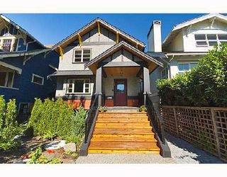 Photo 1: 3261 W 2ND Avenue in Vancouver: Kitsilano House 1/2 Duplex for sale (Vancouver West)  : MLS®# V669951