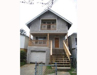 Main Photo: 1955 TEMPLETON Drive in Vancouver: Grandview VE House for sale (Vancouver East)  : MLS®# V703399