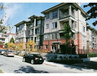 "Photo 1: 110 2468 ATKINS Avenue in Port_Coquitlam: Central Pt Coquitlam Condo for sale in ""THE BORDEAUX"" (Port Coquitlam)  : MLS®# V708771"