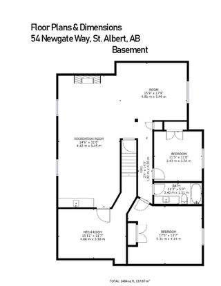 Photo 42: 54 NEWGATE Way: St. Albert House for sale : MLS®# E4209159