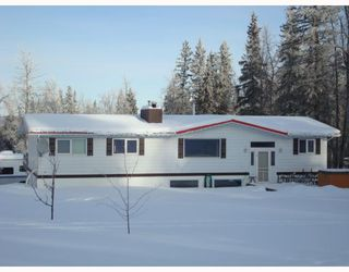 Main Photo: 14614 RED CREEK Road in Fort_St._John: Fort St. John - Rural W 100th House for sale (Fort St. John (Zone 60))  : MLS®# N179080