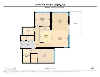 Photo 32: 2508 510 6 Avenue SE in Calgary: Downtown East Village Apartment for sale : MLS®# A1024191
