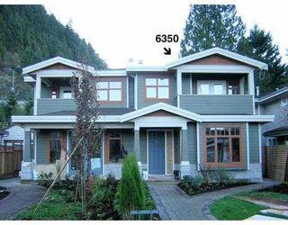 Main Photo: 6350 DOUGLAS Street in West_Vancouver: Horseshoe Bay WV House 1/2 Duplex for sale (West Vancouver)  : MLS®# V675265