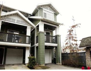 "Photo 1: 119 32691 GARIBALDI Drive in Abbotsford: Abbotsford West Townhouse for sale in ""CARRIAGE LANE"" : MLS®# F2802291"