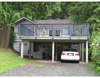 Photo 1: 4525 SUMMERSIDE Lane in North_Vancouver: Deep Cove House for sale (North Vancouver)  : MLS®# V715571