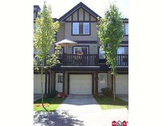 "Photo 1: 51 20176 68TH Avenue in Langley: Willoughby Heights Townhouse for sale in ""Steeple Chase"" : MLS®# F2721202"