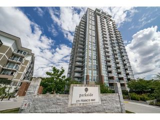 "Photo 1: 710 271 FRANCIS Way in New Westminster: Fraserview NW Condo for sale in ""PARKSIDE"" : MLS®# R2406974"