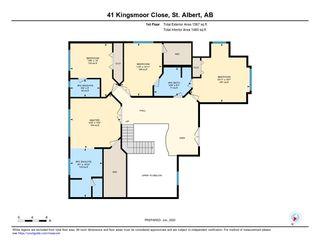 Photo 49: 41 KINGSMOOR Close: St. Albert House for sale : MLS®# E4204044