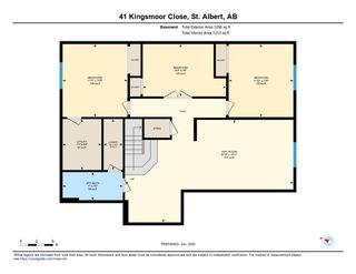 Photo 50: 41 KINGSMOOR Close: St. Albert House for sale : MLS®# E4204044