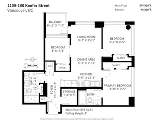 "Photo 31: 1109 188 KEEFER Street in Vancouver: Downtown VE Condo for sale in ""188 KEEFER"" (Vancouver East)  : MLS®# R2525097"