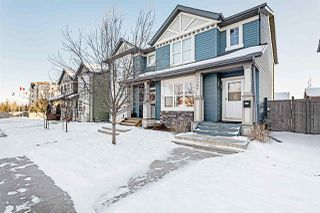 Photo 1: 2167 32 Street in Edmonton: Zone 30 House Half Duplex for sale : MLS®# E4183106