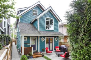 Photo 1: 1816 E 6TH Avenue in Vancouver: Grandview Woodland House 1/2 Duplex for sale (Vancouver East)  : MLS®# R2458887