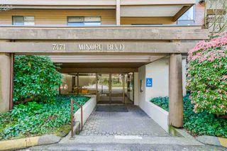 "Photo 3: 153 7471 MINORU Boulevard in Richmond: Brighouse South Condo for sale in ""WOODRIDGE ESTATE"" : MLS®# R2470480"