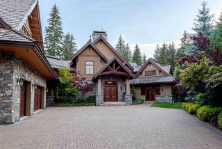 Main Photo: 6693 TAPLEY Place in Whistler: Whistler Cay Estates House for sale : MLS®# R2481263