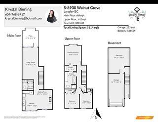 "Photo 23: 5 8930 WALNUT GROVE Drive in Langley: Walnut Grove Townhouse for sale in ""Highland Ridge"" : MLS®# R2496413"