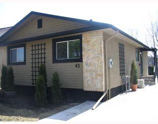 Photo 1: 43 DELORME Bay in WINNIPEG: Fort Garry / Whyte Ridge / St Norbert Residential for sale (South Winnipeg)  : MLS®# 2806757