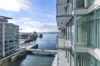 Main Photo: 702-175 Victory Ship Way in North Vancouver: Lower Lonsdale Condo for rent