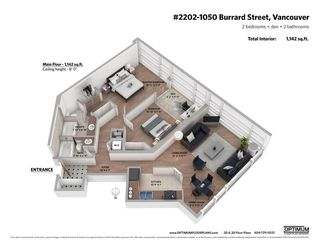 Photo 16: 2202 1050 BURRARD Street in Vancouver: Downtown VW Condo for sale (Vancouver West)  : MLS®# R2419988