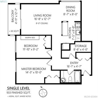 Photo 16: 301 1151 Oscar Street in VICTORIA: Vi Fairfield West Condo Apartment for sale (Victoria)  : MLS®# 423464