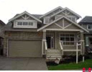 "Photo 1: 20050 74TH Avenue in Langley: Willoughby Heights House for sale in ""Jerico Ridge"" : MLS®# F2726524"